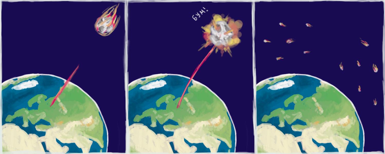 ядерные взрывы для астероидов