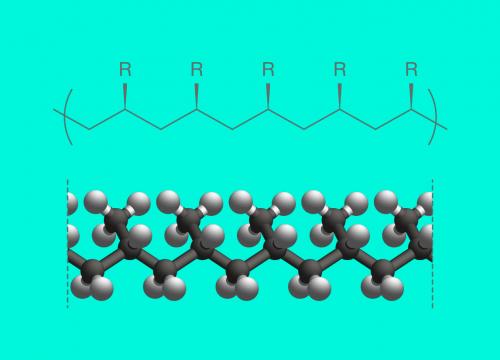 молекулы пропилена
