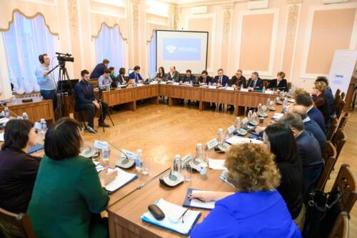 Заседание рабочей группы Министерства образования и науки России, март 2020
