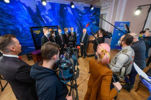 Церемония награждения победителей Международной распределенной физической олимпиады, московский корпус МФТИ